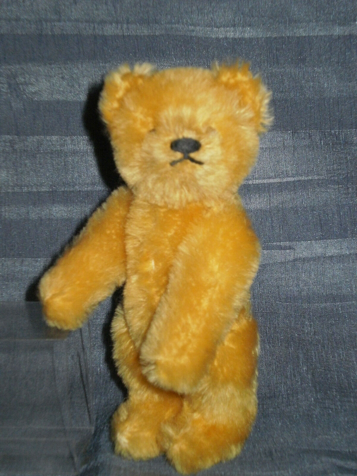 VINTAGE VINTAGE VINTAGE CUTE STEIFF JOINTED oroEN TEDDY BEAR 5.91  no IDs a1dea4