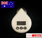 Brand New White DIGITAL SHOWER TIMER, energy saver