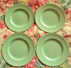 4 X Vintage Woods Ware Beryl Côté Thé/plaques-très Bonne Occasion-kitchenalia-afficher Le Titre D'origine Pour Assurer Une Transmission En Douceur