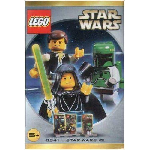 Lego Star Wars 3341 Figures Luke Skywalker, Han Solo & Boba Fett (Box Damaged)