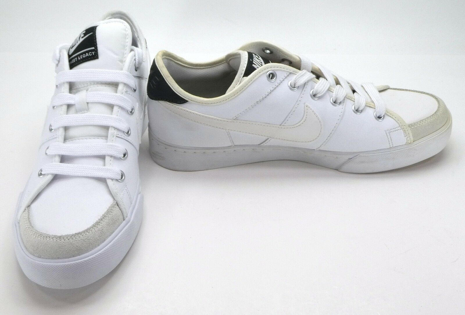 Nike shoes Sweet Legacy Retro Leather White Sneakers Size 9
