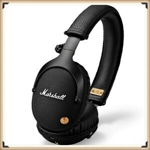 Details about BRAND New Marshall Monitor Bluetooth Wireless Headphones  Headset Bass Mic- black