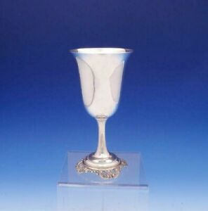"""Grande Baroque by Wallace Sterling Silver Water Goblet #4850-9 7 7/8"""" (#3099)"""