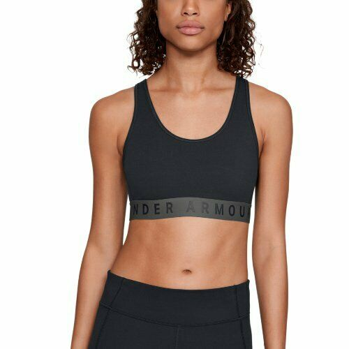 UNDER ARMOUR Damen Bra Favorite Cotton Everyday – schwarz