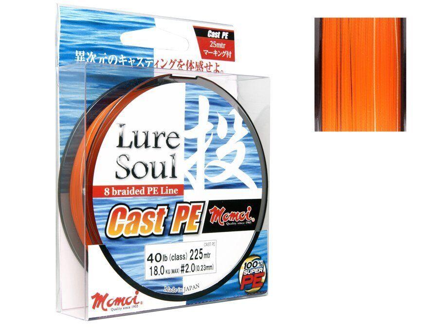 NEW 2018  Momoi Lure Lure Lure soul cast p.e. 150m 0,10mm-0,23mm / casting ac7dc3