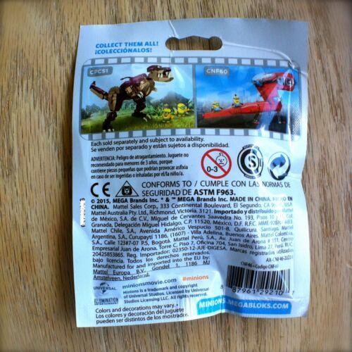 MEGA BLOKS Minions BLIND PACKS SERIES 3 III Despicable Me Factory Sealed Bag