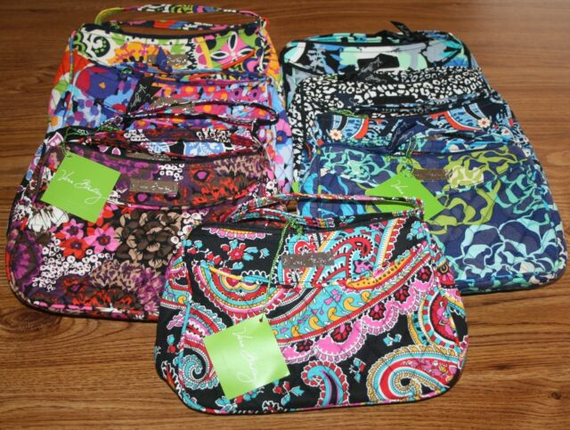 NWT Vera Bradley Little Crossbody cross body shoulder bag hipster mini iPhone 8