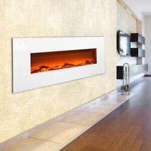 Design-Elektro-Wand-Steh-Stand-Kamin-Heizung-Timer-Fernbedienung-Deko-LED-1600W