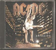 "AC/DC ""Stiff Upper Lip"" Acetate Promo CD"