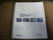 TEKTRONIX TDS5000B SERIES OSCILLOSCOPES QUICK START USERS MANUAL 071-1355-02