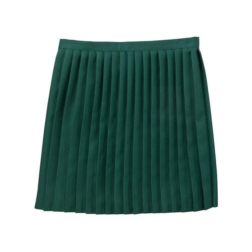 Girls Size 36 inch waist School Gym Skirt Netball Skirt Games Skirt Green