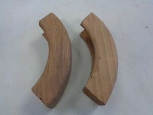 Teak Trim Molding Table Corners Pair Of 2 3 3 4 Quot X 15 16