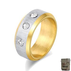 Ge Die Neueste Mode Original Enez Ring Trauring Ehering Edelstahlring Gr: 9 B: 8mm R2616 19mm
