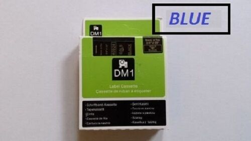 COMPATIBLE DYMO D1 SERIES STANDARD LABELLING TAPE 9mm All colours