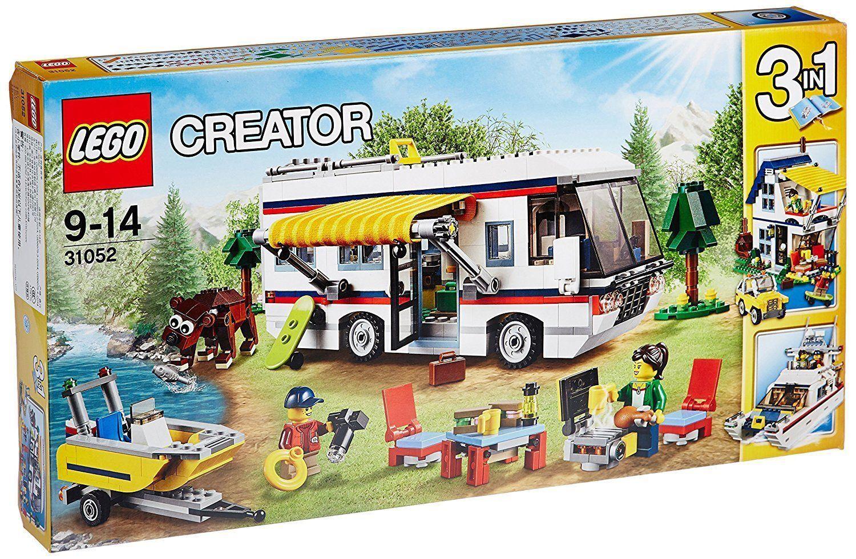 LEGO CREATOR VACANZA SUL CAMPER 9-14 ANNI ANNI ANNI FUORI PRODUZIONE ART 31052 032b0c