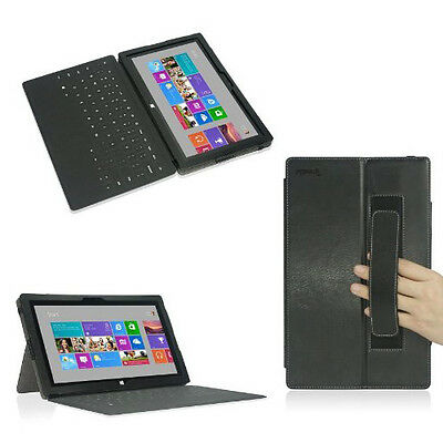 Poetic Slimbook stand Case for Microsoft Surface 10.1-Inch Tablet Black