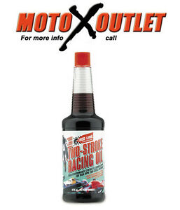 Details About Red Line Two Stroke Oil 2 Cycle Racing Synthetic 12oz Bottle Redline 40603