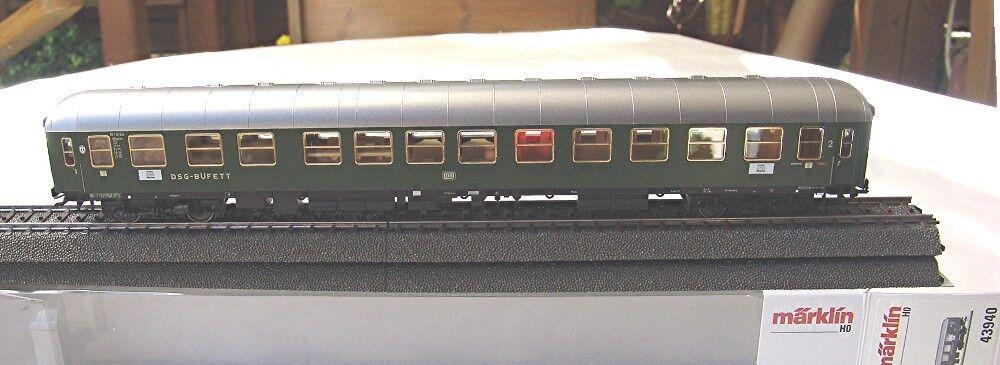 Märklin 43940 Halbspeisewagen der DB 2.Klasse NEU OVP