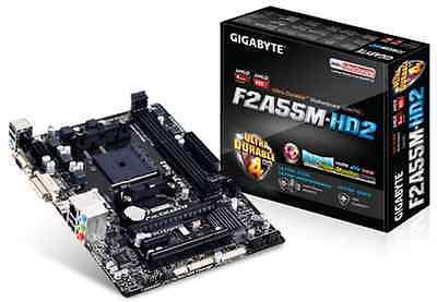 AMD Athlon X2 340 3.2Ghz CPU - Gigabyte F2A55M-HD2 Motherboard - 4GB DDR3 Bundle