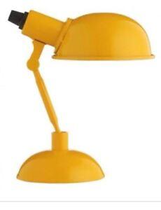 Métal Tommy Bureau Réglable Chevet Jaune Lampe Details About Lumière Habitat Petit E9HDI2