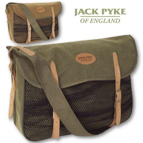 JACK Pyke Gioco Borsa Duotex Kit di caccia in Pelle Marrone Custodia di Tiro Verde