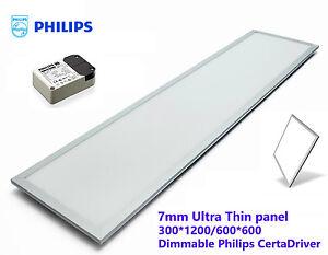New 40w Led Office T Bar Panel Light Troffer Philips