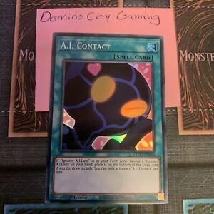 Contact - Super Rare ETCO-EN056 A.I 1st Edition