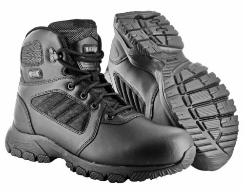 Magnum Hi-Tec Leather Lynx 6.0 Mid Boots Army Shoes Security Shoes NEW