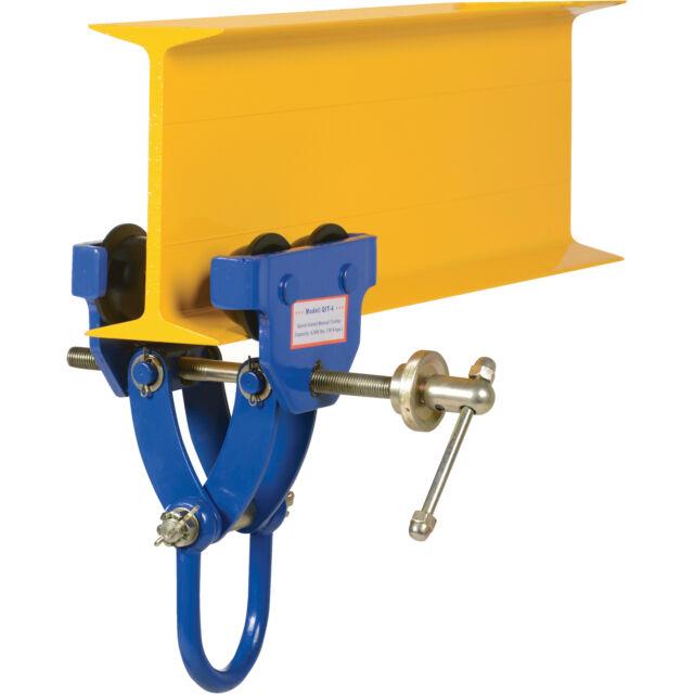 Vestil Quick Install Manual Trolley - 4,000-Lb. Capacity, Model# QIT-4