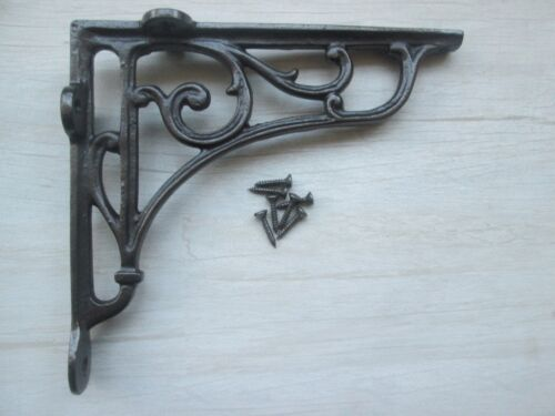 1 X Cast iron Vintage Traditional Old classic Shelf Support Book Bracket