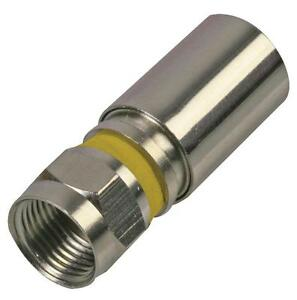 F COMPRESSION PLUG RG6U Connectors RF/Coaxial, F COMPRESSION PLUG RG6U