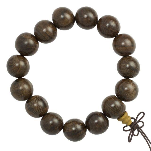 Wood Monk Mala Bracelet Prayer