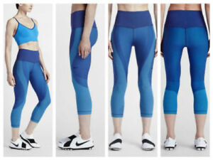 b98e9bbf932d8 $140 NEW Womens Nike POWER Zoned Sculpt Training Compression Tights ...