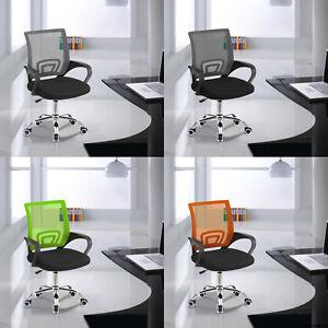 Ergonomic Mesh Office Chair Adjustable Desk Chair Swivel Chair Computer Chairs Ebay