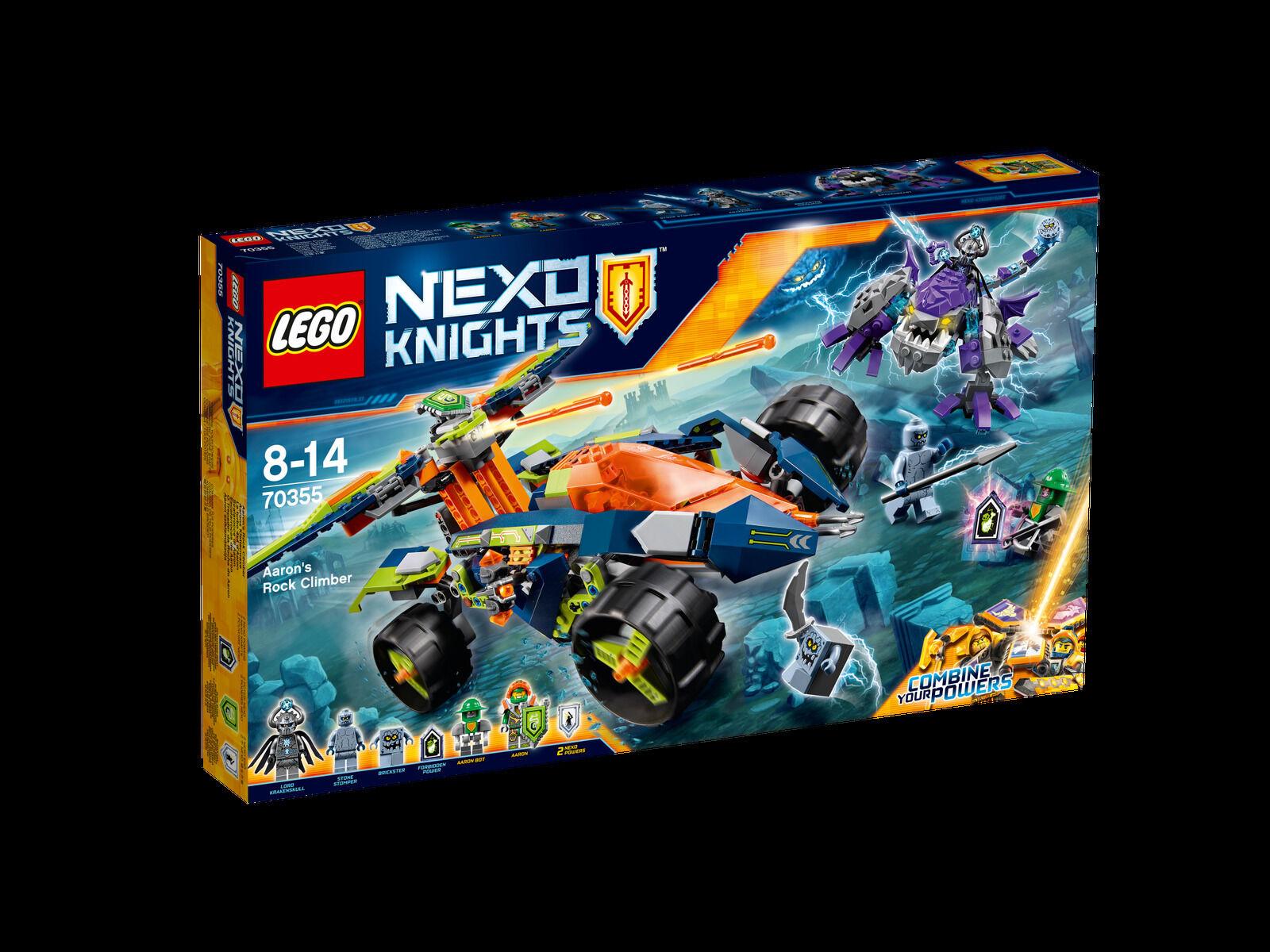 LEGO NEXO KNIGHTS Aarons Klettermaxe 70355 NEU OVP