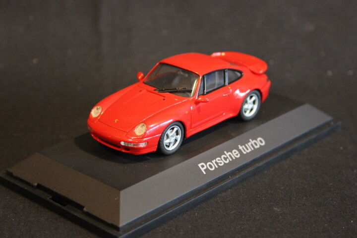 Schuco Porsche 911 Turbo 1 43 Red (HB)