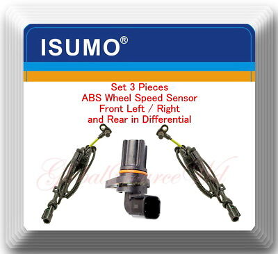 Front Left Right ABS Wheel Speed Sensor for Ford F-250 F-350 Super Duty 05-10