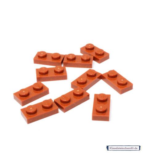 LEGO®  10x Platte 1x2 dunkelorange 4162217 4570877 3023