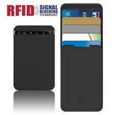 RFID Block Card Holder Anti-Side Wallet Action Push-Pull Minimalist Money Clip