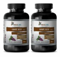 Antioxidant Organic Grape Seed Extract 100mg Immune Support Life Extension 2 Bot