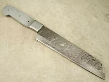 Custom Damascus Professional Chopping Chef Knife Blank Knifemaking CK2-#31