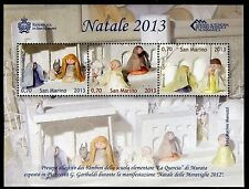 SAN MARINO 2013 NATALE/CHRISTMAS/CRIB/RELIGION s.sheet