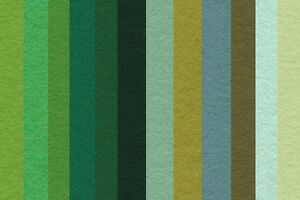 WOOL-MIX-FELT-SQUARES-2x-GREEN-approx-9-034-x-9-034-30-WOOL-70-SYNTHETIC