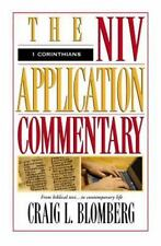 The NIV Application Commentary: NIV Application Commentary by Craig L. Blomberg (1995, Hardcover)