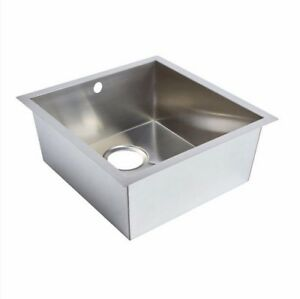 COOKE & LEWIS CAJAL 1 BOWL BRUSHED STAINLESS STEEL UNDERMOUNT SINK ...