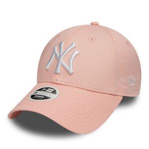 009e555846 New Era MLB Womens League Essential New York Yankees Cap Pink ...