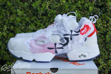 WOMENS REEBOK INSTAPUMP FURY CELEBRATE SZ 8.5 WHITE RED BLUE PINK V69142