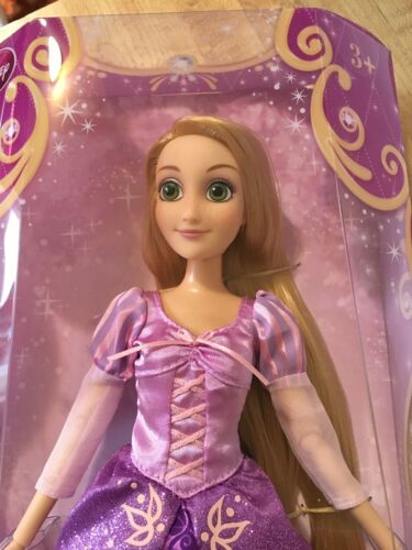 "NEW Disney Store Exclusive Classic 12"" Rapunzel Doll Retired Rare"