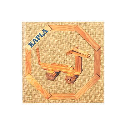 NEUF KAPLA Livre D/'ART Band 4 beige motifs animaux pour les enfants # livr4