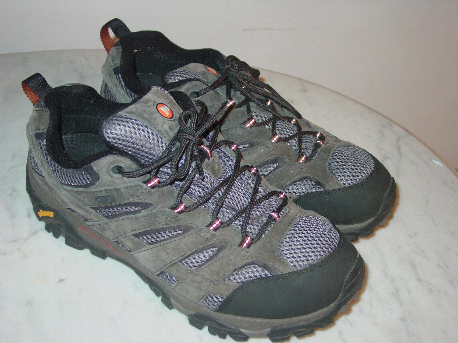Para Hombre Merrell Moab 2 Impermeable J06029W Beluga Trail senderismo zapatos  (ancho)